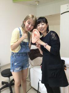 韓国からユーチューバさん、耳かき動画撮りにご来店(^-^)